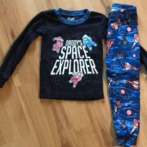 Children's place 2 piece pajamas size 18-24 months